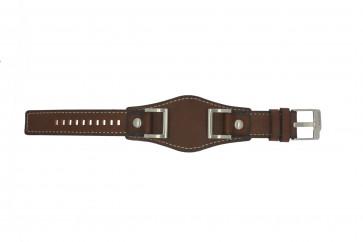 Correa de reloj Fossil JR1157 Cuero Marrón 24mm