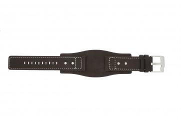 Correa de reloj Fossil JR9990 Cuero Marrón 24mm