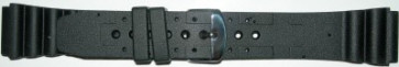 Correa de reloj Universal SL100 Silicona Negro 20mm