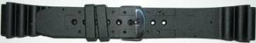 Correa de reloj Condor SL100 Silicona Negro 22mm