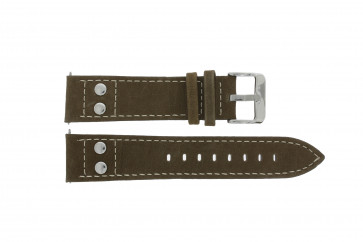 Correa de reloj H820 Cuero Marrón 22mm