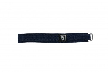 Correa de reloj de velcro azul marino 18mm