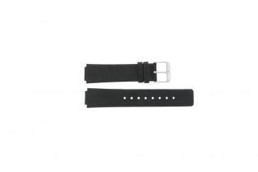 Correa de reloj Danish Design IV12Q884 Cuero Negro 14mm