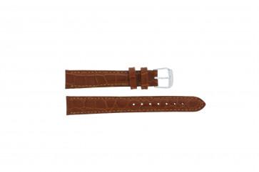 Correa de reloj de cuero genuino marrón 14mm PVK-119