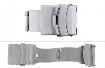 Cierre desplegable SL661 para correas de cuero 12,14,16,18,20, 22mm