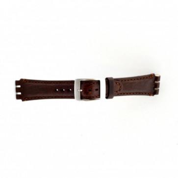 Correa para relojes Swatch marrón 19mm PVK-SC14.02