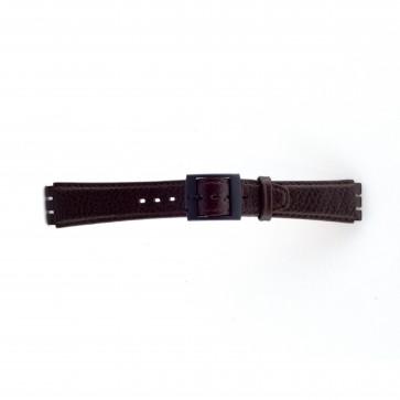 Correa para Swatch marrón 17mm PVK-SC04.02