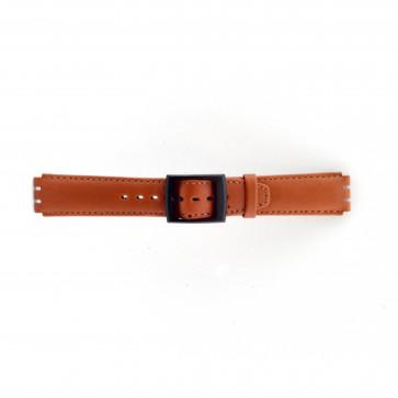 Correa para Swatch marrón 17mm PVK-SC11.03