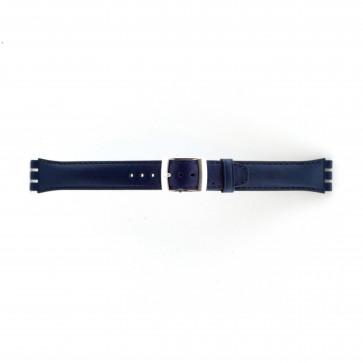 Correa para relojes Swatch azul marino 19mm
