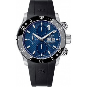 Correa de reloj Edox 01122 Silicona Negro