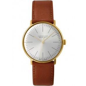 Correa de reloj Junghans 027/5703.00 Cuero Marrón claro