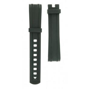 Correa de reloj Omega 21032422001001 Silicona Negro 20mm