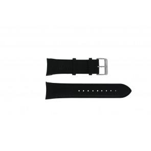 Swiss Military Hanowa correa de reloj 06-4278.04.001.07 Cuero Negro + costura negro