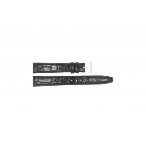 Correa de reloj Condor 082R.01 Cuero Negro 14mm