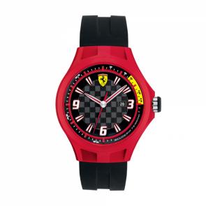 Correa de reloj Ferrari SF101.1 / 0830006 / SF689300009 Caucho Negro 22mm