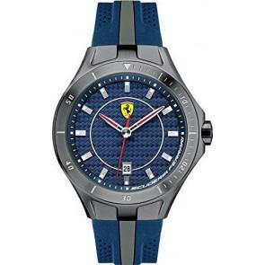Ferrari correa de reloj SF103.7 / 0830081 / SF689300057 / Scuderia Caucho Azul  22mm