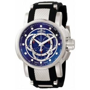 Correa de reloj Invicta 0893.01 / 0894.01 / 0895.01 Caucho Negro
