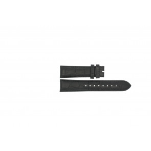 Correa de reloj Esprit ES103342006 Cuero Negro 20mm