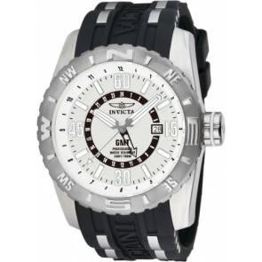 Correa de reloj Invicta 10681.01 Caucho Negro