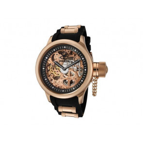 Correa de reloj Invicta 1090.01 / 10136.01 / 17267.01 Caucho Negro