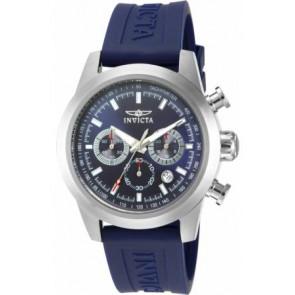 Correa de reloj Invicta 15200-01 Silicona Azul 22mm