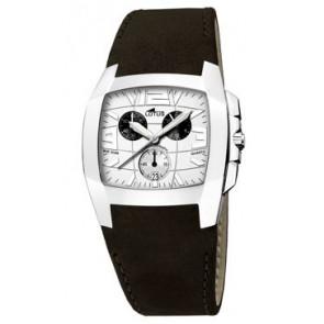 Correa de reloj Lotus 15321-1 Cuero Negro