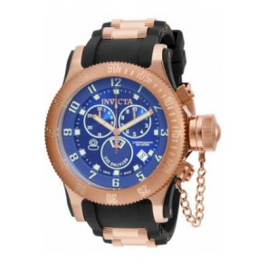 Correa de reloj Invicta 15569.01 / 15568 Caucho Negro 26mm
