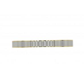 Correa de reloj 16BI Metal Plateado 16mm