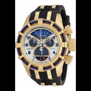 Correa de reloj Invicta 17465 (17465.01) Acero/Silicona Negro