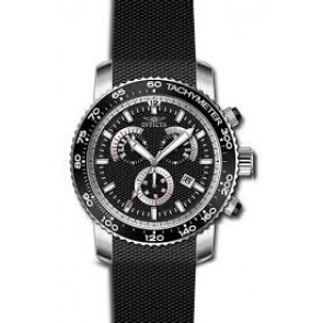 Correa de reloj Invicta 17773 Silicona Negro 22mm