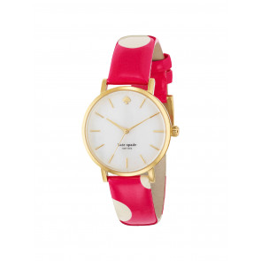 Correa de reloj Kate Spade New York 1YRU0224 Cuero Rosa 16mm