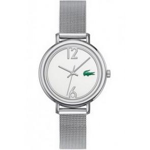 Lacoste correa de reloj 2000538 / LC-33-3-14-2200 Metal Plateado 14mm