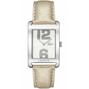 Correa de reloj Lacoste 2000674 / LC-51-3-14-2261 Cuero Beige 20mm