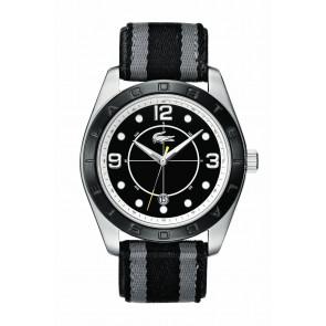 Correa de reloj Lacoste 2010575 / LC-53-1-34-2267 Cuero Negro 24mm
