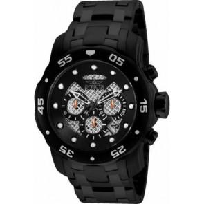 Correa de reloj Invicta 25334.01 Acero Negro 26mm
