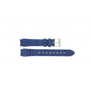 Correa de reloj Prisma 33 832 117 Cuero Azul 14mm