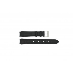 Prisma correa de reloj 33 832 117 Cuero Negro 14mm + costura negro