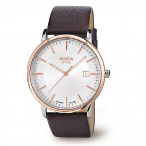 Correa de reloj Boccia 3557-04 Cuero Marrón 21mm