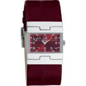 Correa de reloj Dolce & Gabbana 3719251493 Cuero Burdeos 25mm