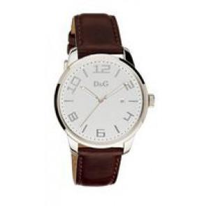Correa de reloj Dolce & Gabbana 3719340294 Cuero Marrón oscuro