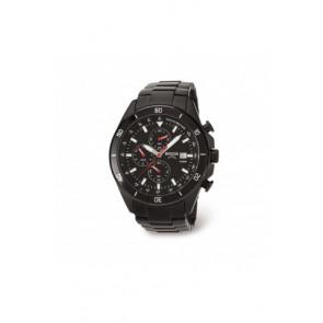 Correa de reloj Boccia 3762-03 / 811 A3762AQSXC Acero Negro 21mm