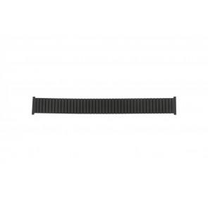 Correa de reloj Universal 382960 Acero Negro 22mm