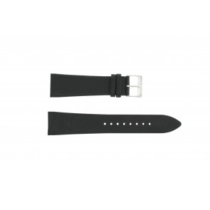 Correa de reloj Junghans 42050-4963 / 030/4942.00/222987 Cuero Negro 22mm