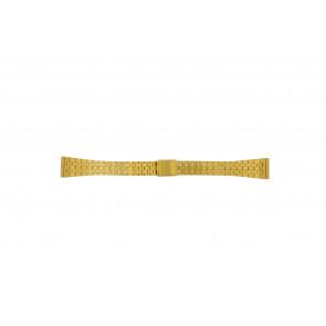 Correa de reloj Universal 42522.5.16 Acero Chapado en oro 16mm