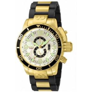 Correa de reloj Invicta 4899.01 Acero Chapado en oro