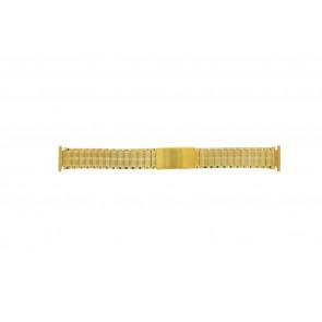 Correa de reloj Universal 551528 Acero Chapado en oro 20mm