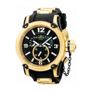 Correa de reloj Invicta 5670 Silicona Negro