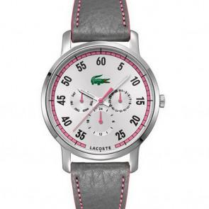 Correa de reloj Lacoste 2000595 / LC-41-3-14-2230 Cuero Púrpura 20mm