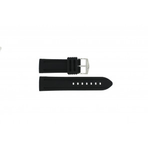 Correa de reloj 5809 Silicona Negro 26mm