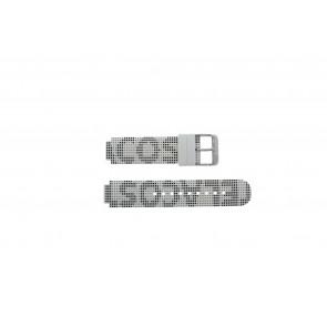 Lacoste correa de reloj LC-46-1-29-2224 / 609302262 / 2010532 Silicona Blanco 14mm